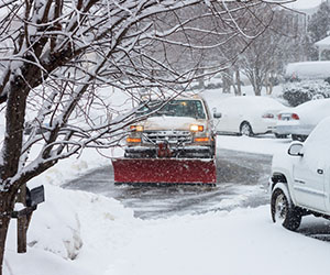 snow-clearing